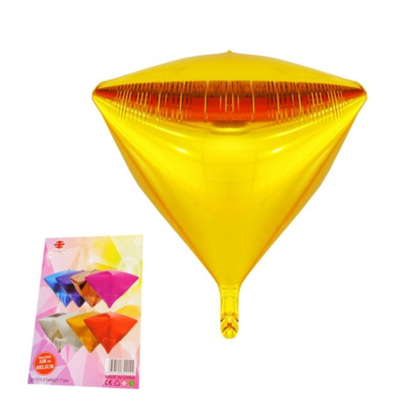 Балон от фолио - ПИРАМИДА (злато)