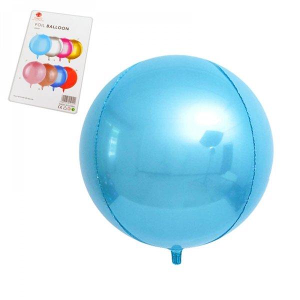 Фолиев балон - СФЕРА светло син