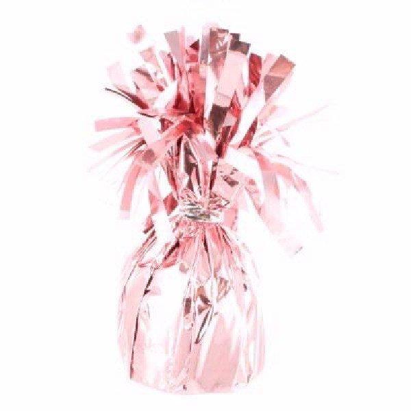 Тежест за балон от фолио в розово - 170 гр