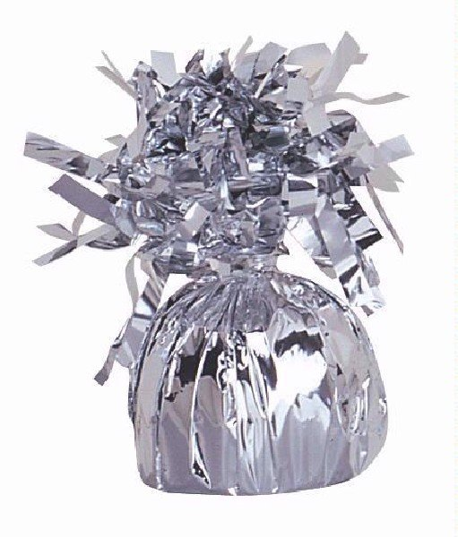 Тежест за балон от фолио в сребро -  170 г