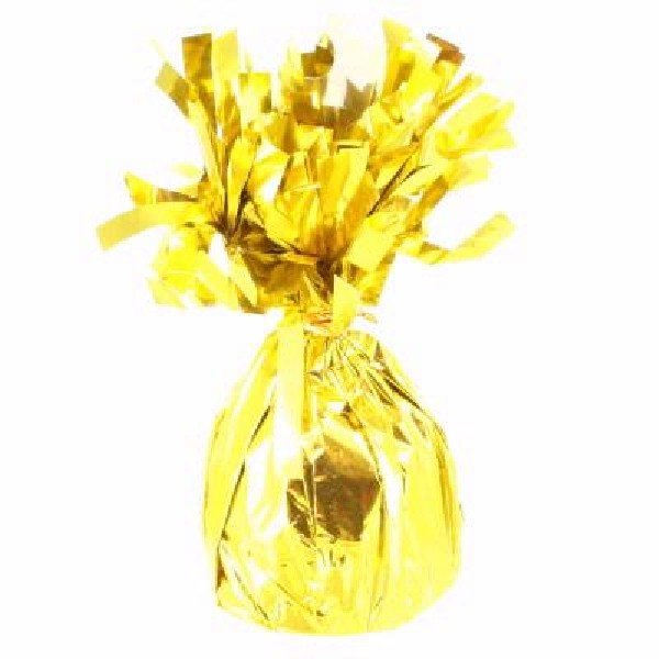 Тежест за балон от фолио в злато -  170 г