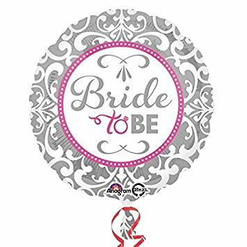 Балон Bride To Be -  фолио 45 см