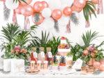 Парти чинии - Розово Злато