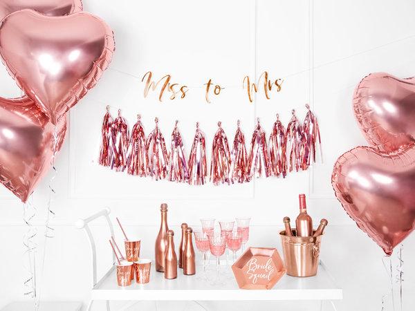 Парти Гирлянд - Розово Злато