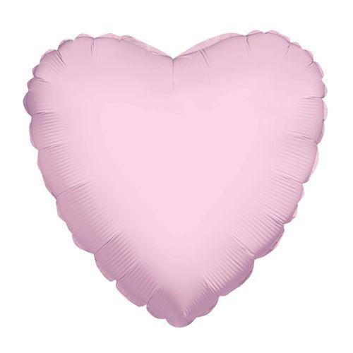 "Голям Розов Балон ""Сърце"" - 45 см"
