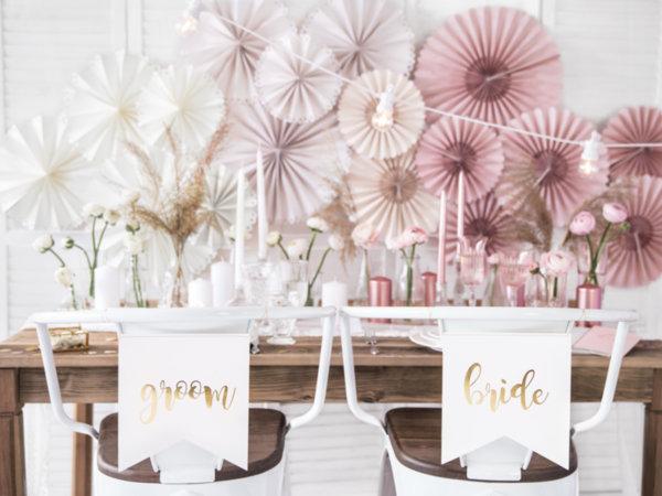 Декорация на сватбени столове