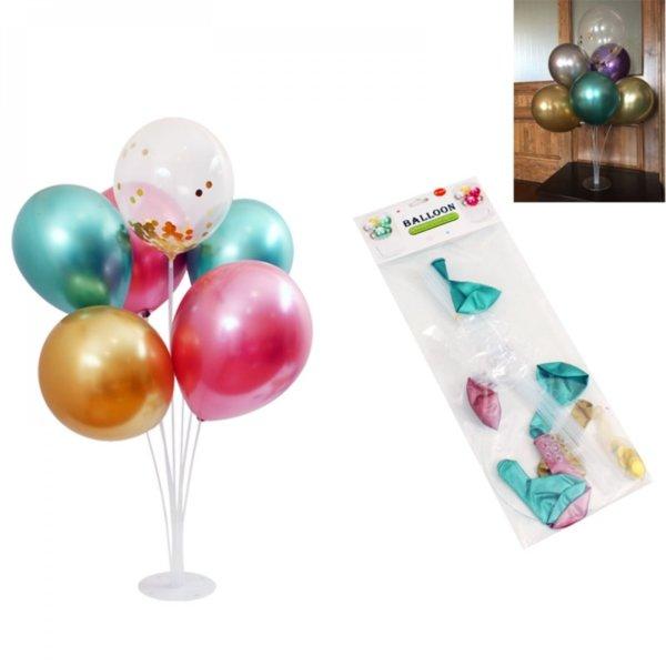 Комплект балони на стойка / 7 броя /