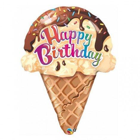 """Голям балон за рожден ден -  """"ICE CREAM"""""""