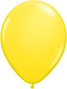 "Балони ""Класик"" - жълти - 10 броя"
