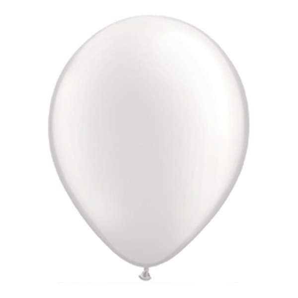 "Балони ""Класик"" - бели - 10 броя"