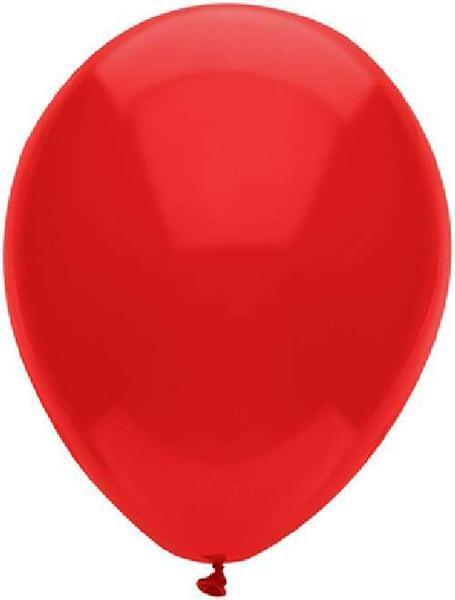 """Балони """"Класик"""" - червени - 10 броя"""