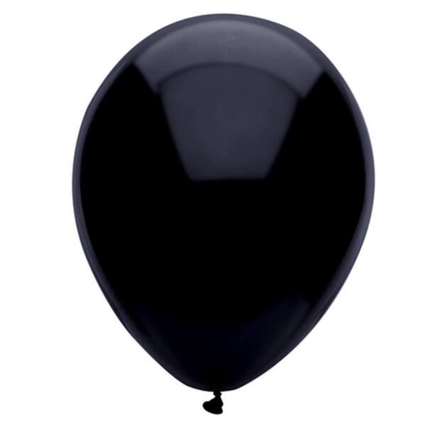 "Балони ""Класик"" - черни - 10 броя"