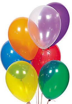 """Балони """"Кристал"""" - микс цветове"""