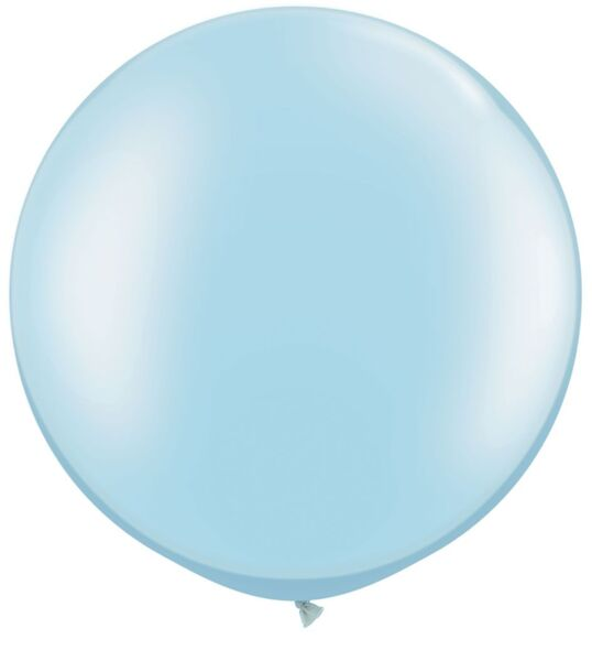 """Балони """"Макарон"""" - Джъмбо /2 броя/-сини"""