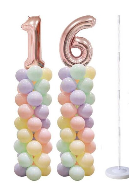 Стойка за балони - Колона