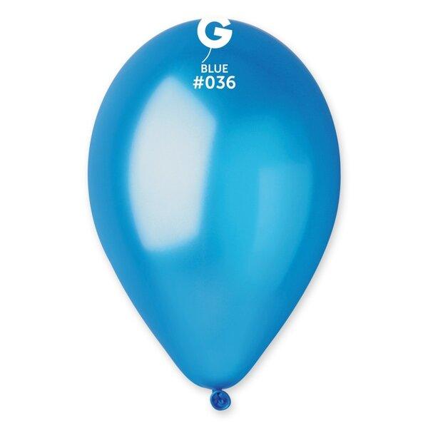 Балони металик - Тъмно Сини - пакети от 10, 50 и 100 броя