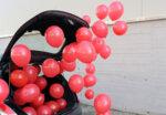 Балони Класик 100 броя в червено