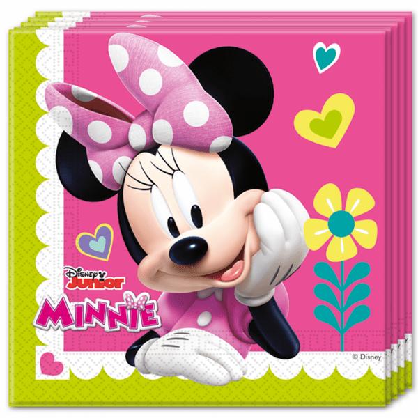 Парти Салфетки - Minnie Mouse - 20 броя
