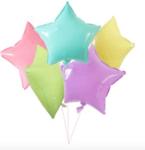 Балони Macaron - 5  броя микс цветове - 45 см