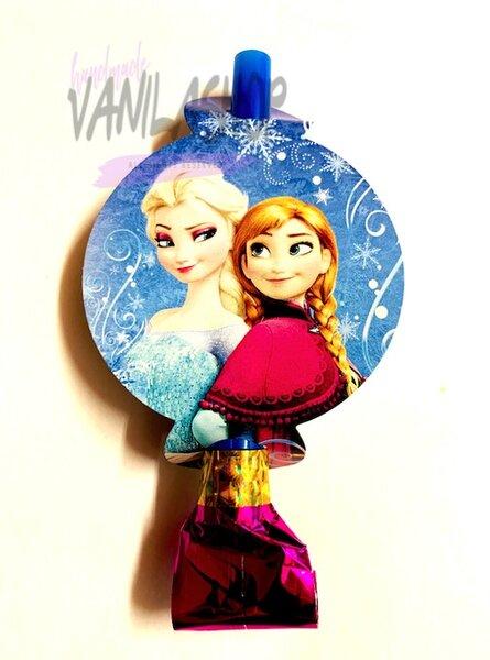 """Парти свирки """"Замръзналото кралство"""" (Frozen) - 6 броя"""