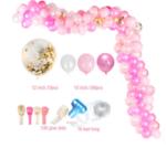 Огромна арка от розови балони - 70 броя-Copy