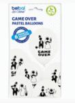 Забавни балони с надпис Game Over - 6 броя
