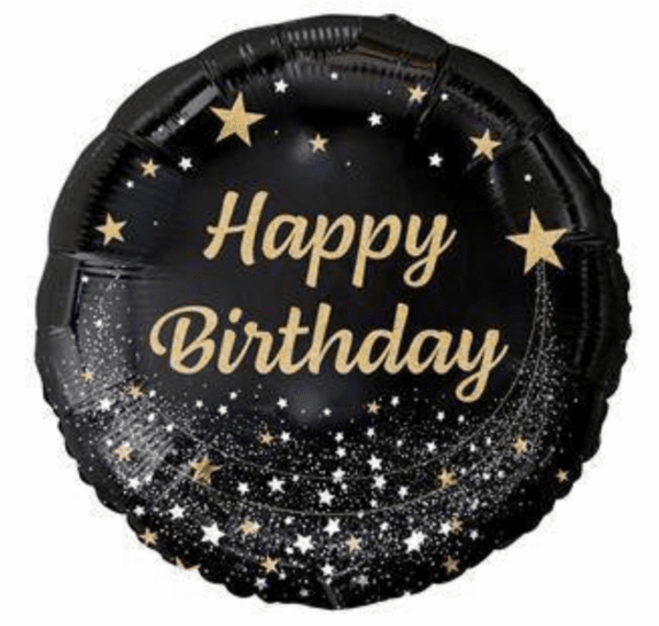"""Балон фолио"""" Happy Birthday"""" - 46 см"""