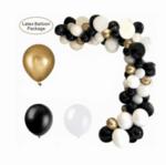 Арка Балони в зерно и златно - 100 броя