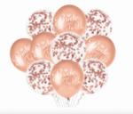 "Сет от 10 балона ""Bride To Be"" в розово злато"