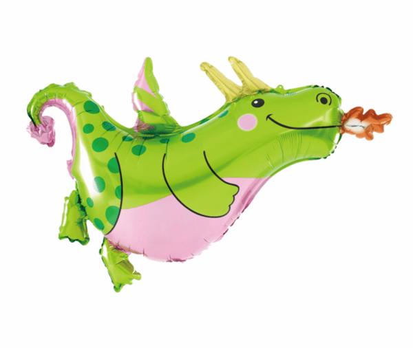 "Балон фолио ""Динозавър"" - 90 x 76 см"
