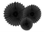 Парти декорация - Висящи Хартиени Розетки - 3 броя  - 20 - 30 - 40 см-Copy