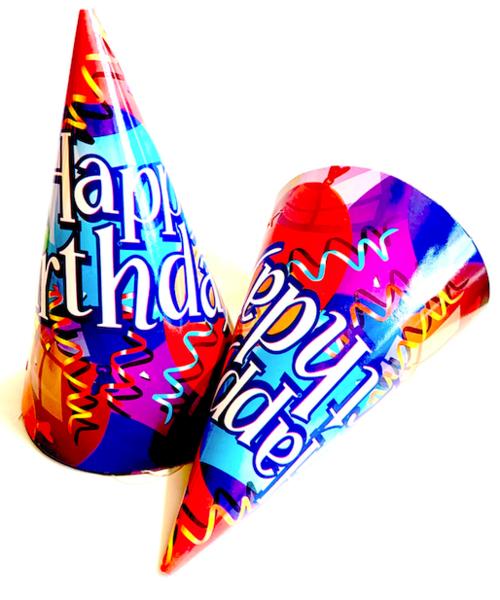 Парти шапки  - Happy Birthday