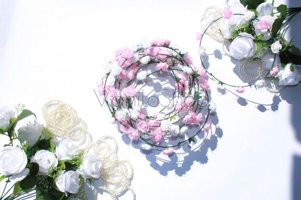 Венчета микс бели и розови розички