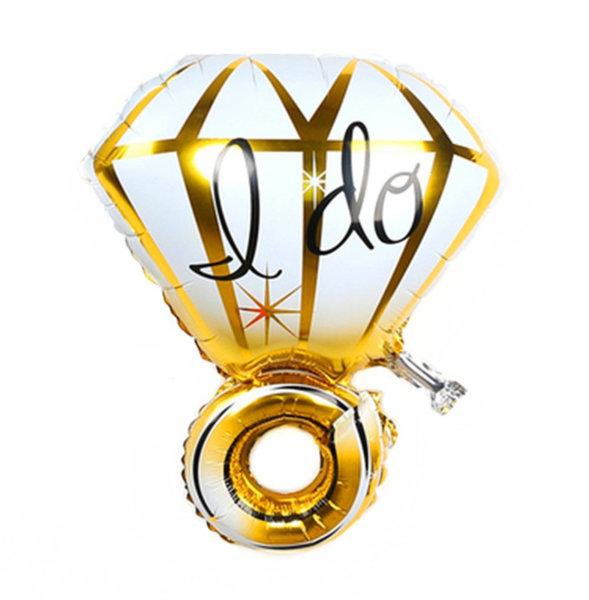 Голям Ring Балон Злато