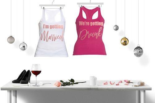 """Потничета за моминско парти """" Getting Drunk"""" - rose gold eddition"""