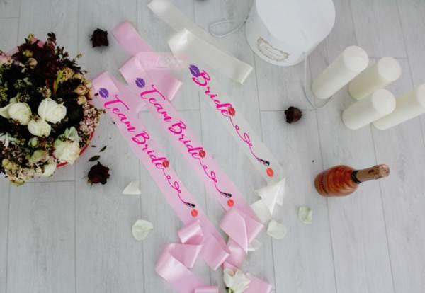 Ленти за моминско парти -Nail polish 2