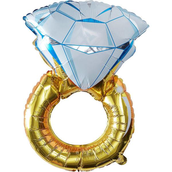 """Голям Балон Пръстен - """"RING"""""""