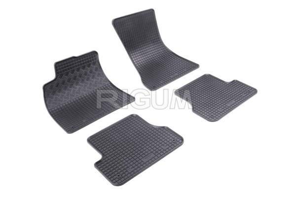 Комплект гумени стелки за Audi A6 2011-