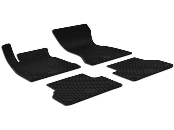 Комплект гумени стелки за Audi A4 (B9) 2015-