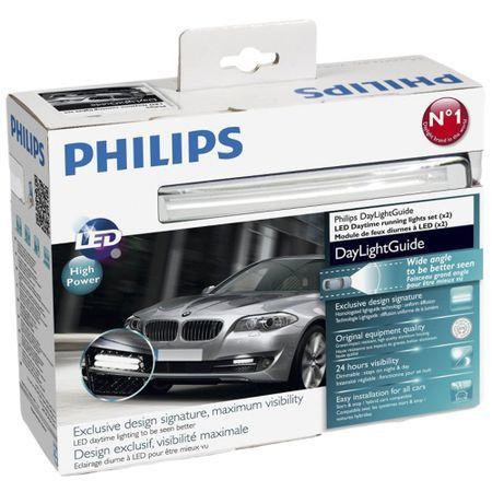 Комплект 2 модула за дневни светлини с LED Philips Daylight Guide, 12V, 5W