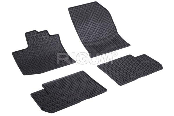 Комплект гумени стелки за Dacia Dokker 5m 2012-