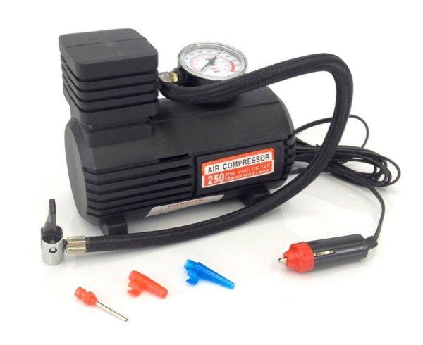 Авто компресор Compass  250 psi ,Адаптер 12v DC