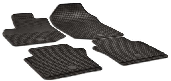 Комплект гумени стелки за Honda City 2009-