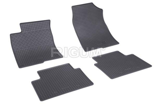 Комплект гумени стелки за Honda Civic HB 2017-