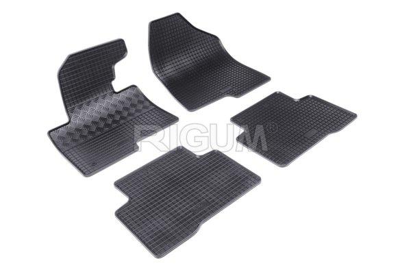 Комплект гумени стелки за Hyundai Santa Fé 2012-
