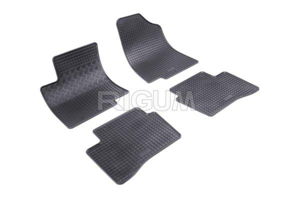 Комплект гумени стелки за Kia Rio III 2011-