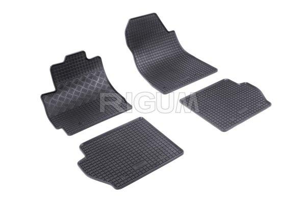 Комплект гумени стелки за Mazda 2 2007-2015