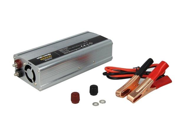 Инвертор за напрежение WHITENERGY, 24V USB, 800W