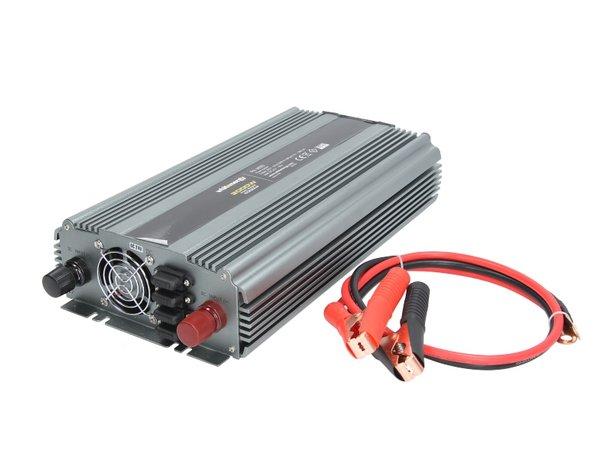Инвертор за напрежение WHITENERGY, 24V USB, 1500W