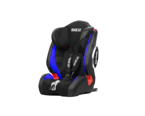 Детско столче за кола Sparco  9-36kg,черен/син
